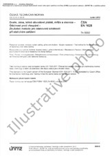 Standard ČSN EN ISO 15366-1 1.10.2016 preview