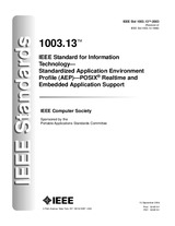 Preview IEEE 1003.13-2003 10.9.2004