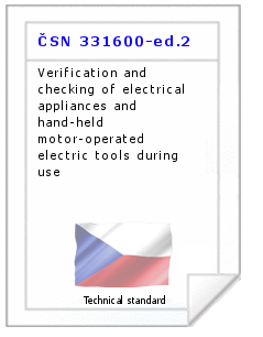 Technical standard ČSN 331600-ed.2