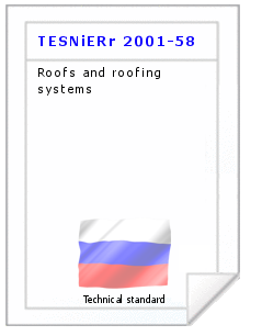 Technical standard TESNiERr 2001-58