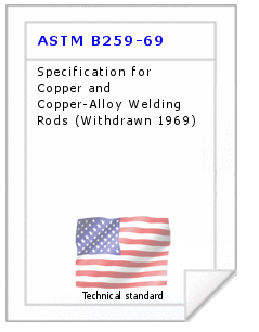 Technical standard ASTM B259-69