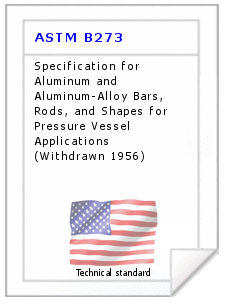 Technical standard ASTM B273
