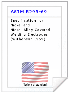 Technical standard ASTM B295-69