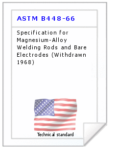 Technical standard ASTM B448-66