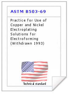 Technical standard ASTM B503-69