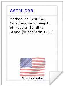 Technical standard ASTM C98