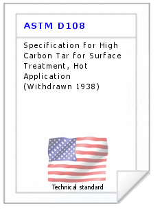 Technical standard ASTM D108