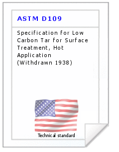 Technical standard ASTM D109