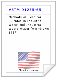 Technical standard ASTM D1255-65