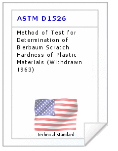 Technical standard ASTM D1526
