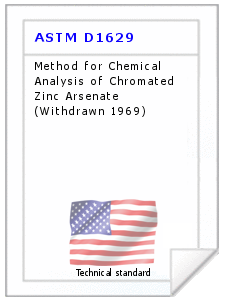 Technical standard ASTM D1629