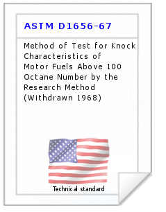 Technical standard ASTM D1656-67