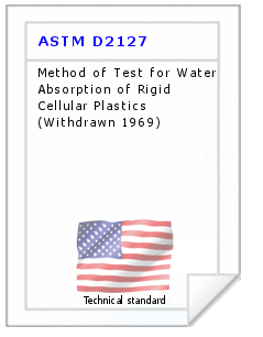 Technical standard ASTM D2127