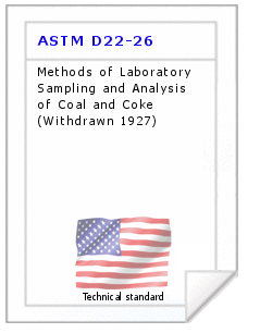 Technical standard ASTM D22-26
