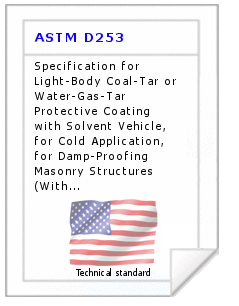 Technical standard ASTM D253