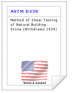 Technical standard ASTM D339