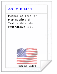 Technical standard ASTM D3411