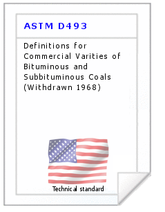 Technical standard ASTM D493