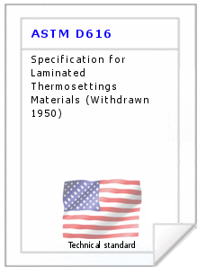 Technical standard ASTM D616