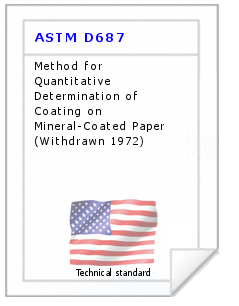 Technical standard ASTM D687