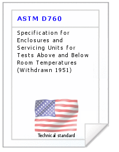 Technical standard ASTM D760