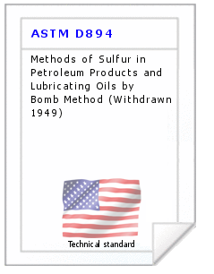 Technical standard ASTM D894