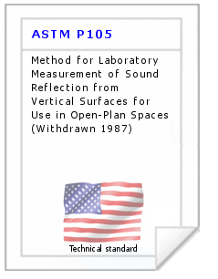 Technical standard ASTM P105