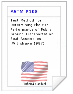 Technical standard ASTM P108