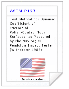 Technical standard ASTM P127