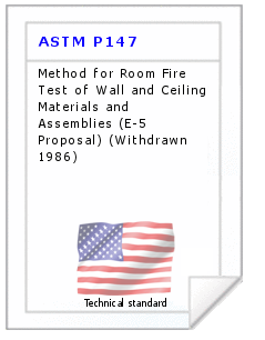 Technical standard ASTM P147
