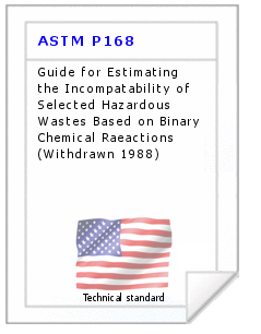Technical standard ASTM P168