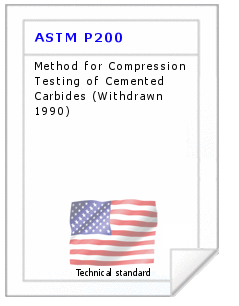 Technical standard ASTM P200