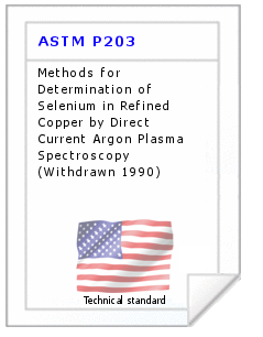 Technical standard ASTM P203