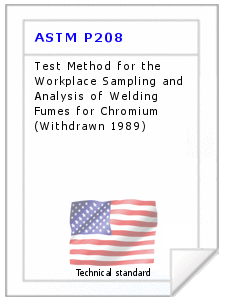 Technical standard ASTM P208