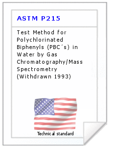 Technical standard ASTM P215