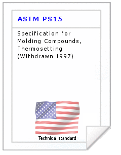 Technical standard ASTM PS15