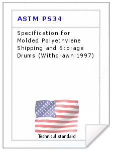 Technical standard ASTM PS34