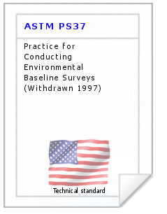 Technical standard ASTM PS37
