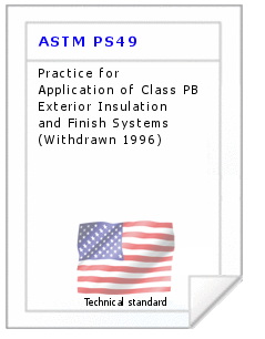 Technical standard ASTM PS49