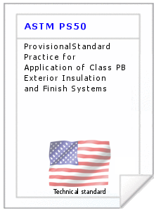 Technical standard ASTM PS50