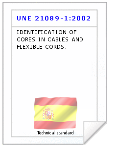 Technical standard UNE 21089-1:2002